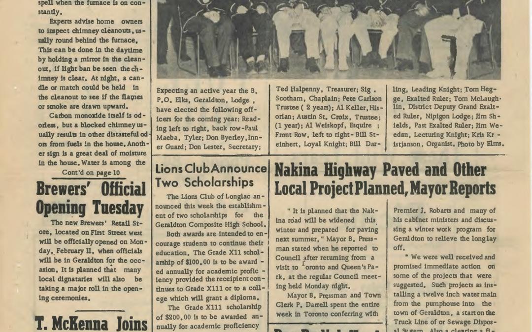 Throwback Thursday – February 7 1963